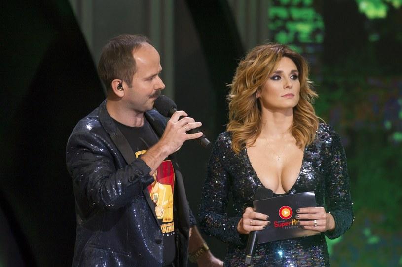 Sławomir z żoną Magdaleną /Wojciech Strozyk/ /Reporter