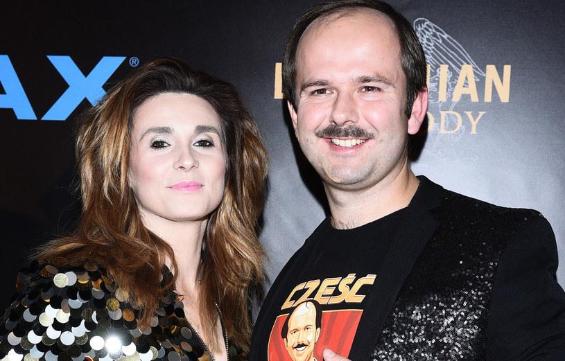 Sławomir z żoną Magdaleną /Andras Szilagyi /MWMedia