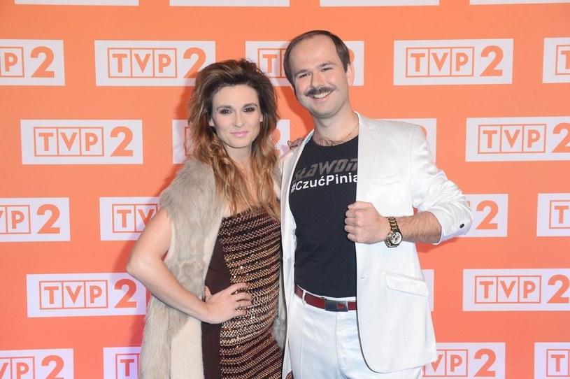 Sławomir z żoną /Jarosław Antoniak /MWMedia