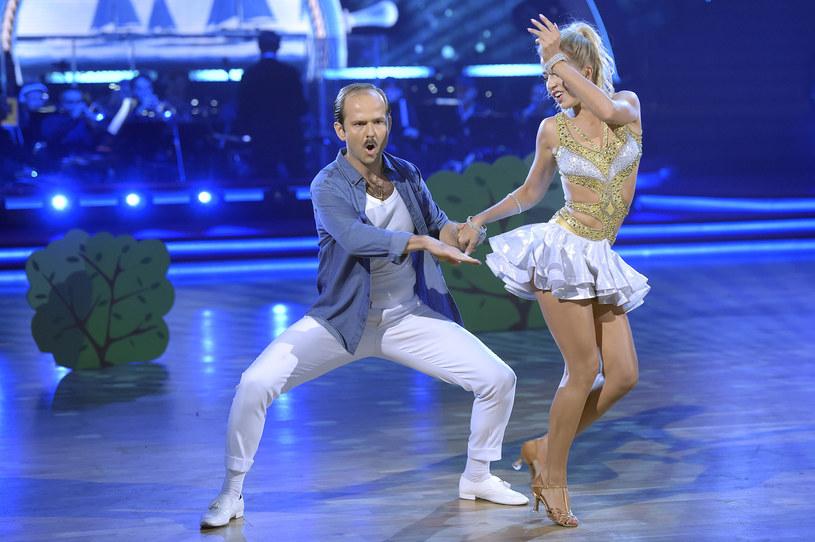 """Sławomir Zapała i Magdalena Molęda w szóstej edycji programu """"Dancing with the Stars. Taniec z gwiazdami"""" /AKPA"""