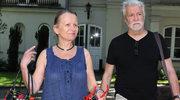 Sławomira Łozińska załamała się po śmierci syna. Teraz przyszło jej pożegnać byłego ukochanego