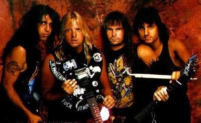 Slayer w latach 80. /