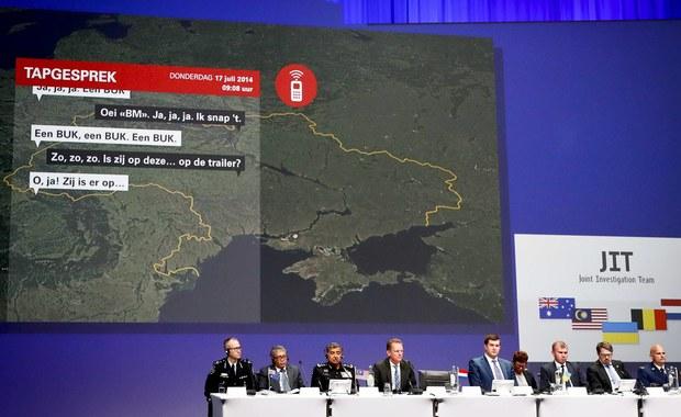 Śledczy o zestrzeleniu boeinga nad Ukrainą: Rakieta z Rosji, wystrzelona z wioski separatystów