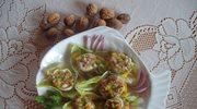 Śledziowe roladki w sosie miodowo-musztardowym
