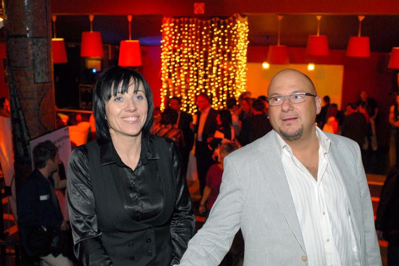 Śleszyńska i Gąsowski byli razem kilkanaście lat /Marek Ulatowski /MWMedia