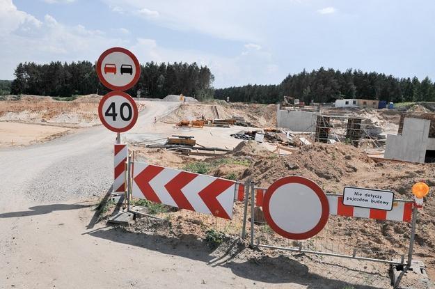 Ślimaczą się budowy nowych dróg. Fot. Łukasz Szeląg /Reporter