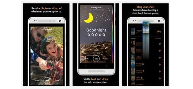Slingshot - nowa aplikacja autorstwa Facebooka /materiały prasowe