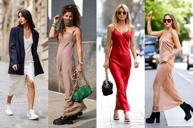 Slip dress to jeden z trendów tego sezonu /Getty Images