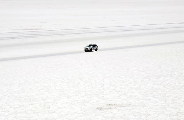 Słona pustynia w Boliwii /AFP
