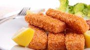 Słoneczko z paluszkami rybnymi
