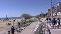 Słoneczne dni na wybrzeżu. Mieszkańcy korzystają
