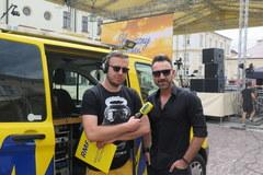 Słoneczny Patrol RM FM w Rzeszowie. Wakacyjne karaoke z Mateuszem Ziółko