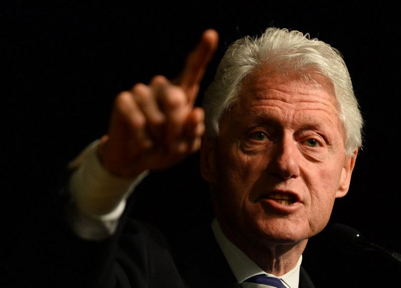 Słowa Billa Clintona o Polsce wywołały lawinę komentarzy /Andrew Caballero-Reynolds / AFP /AFP