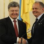 """Słowacja gwarantem Ukrainy w """"trudnym czasie"""""""