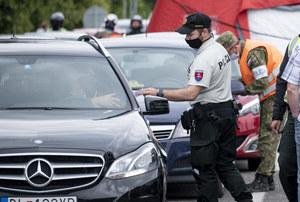 Słowacja: Intensywne kontrole na granicy. Zamknięto część przejść z Polską