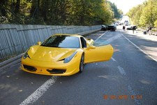 Słowacja: Kierowca ferrari sam stracił matkę w wypadku