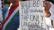 Słowacja: Masowe protesty Węgrów