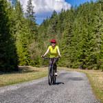 Słowacja na rowerze: Rejon Liptowa