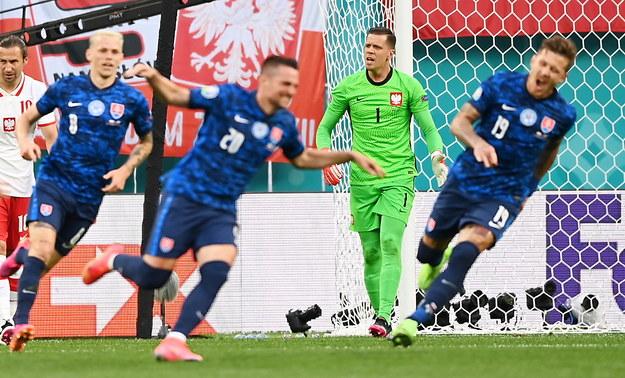Słowacja prowadzi 1:0 /KIRILL KUDRYAVTSEV / POOL /PAP/EPA