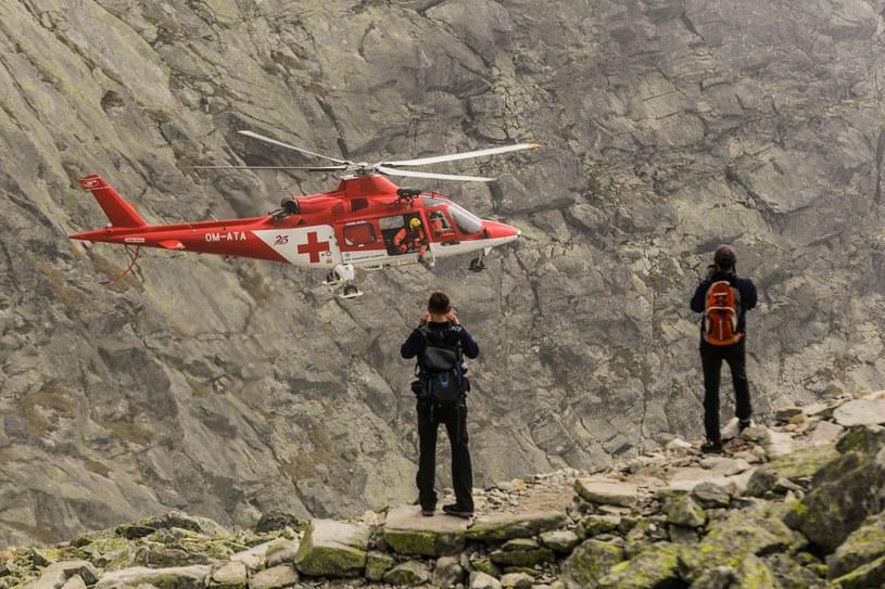 Słowacka służba ratunkowa (Horska Zachranna Sluzba) /Dominik Gajda/ /East News