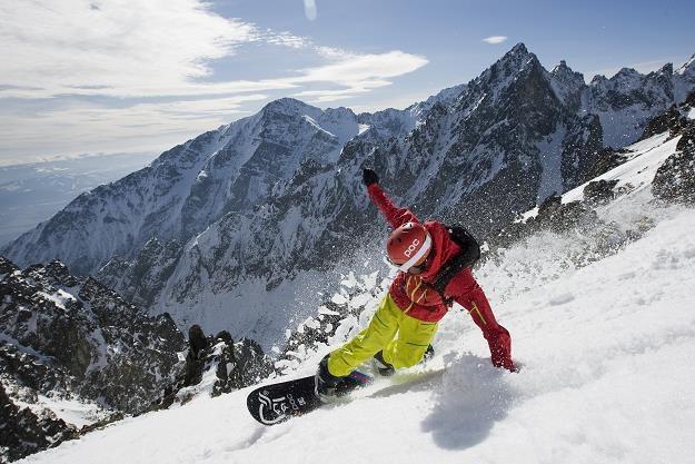 Słowackie Tatry przyciągają miłośników nart i snowboardu. Fot. www.aquacity.sk /