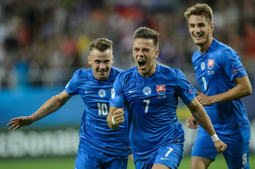 Słowacy mają powody do radości /Fot. Wojciech Pacewicz /PAP/EPA
