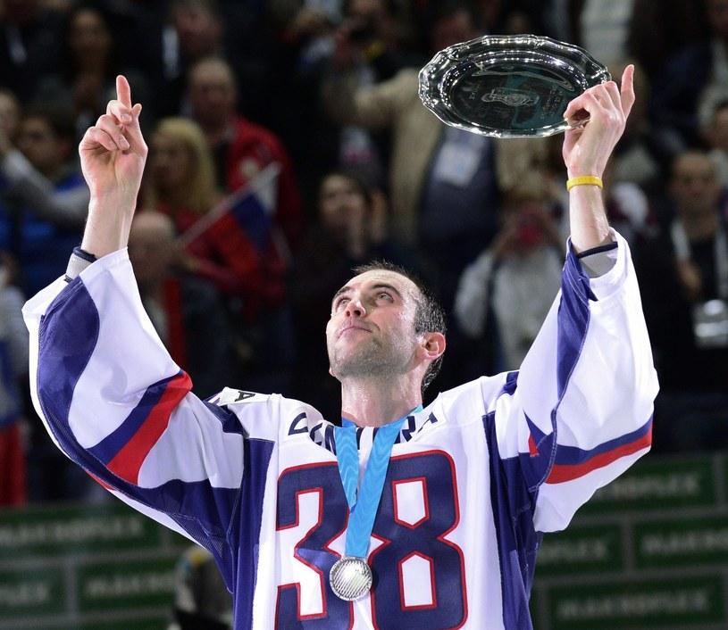Słowak Zdeno Chara jest jedną z gwiazd Lva Praga. /AFP