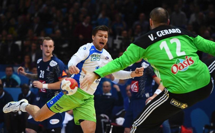 Słoweńcy się starali, ale to zbyt mało na rozpędzoną Francję /AFP