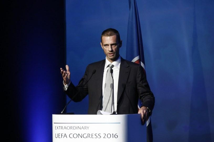 Słoweniec Aleksander Ceferin /AFP