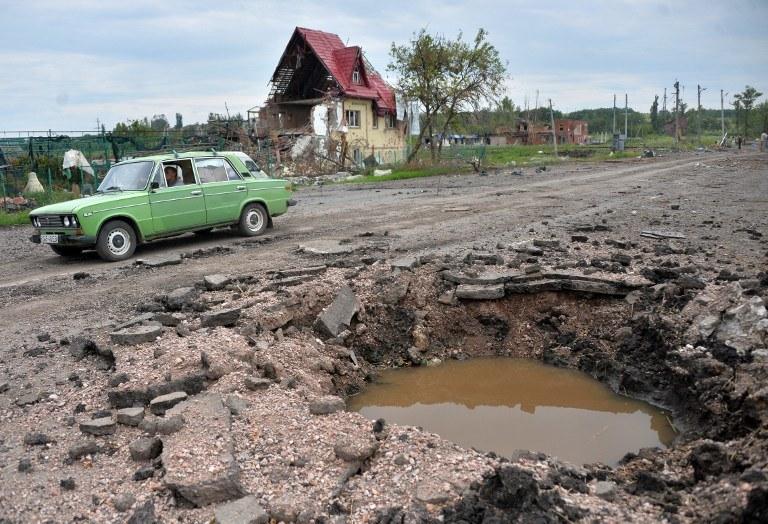 Słowiańsk /AFP