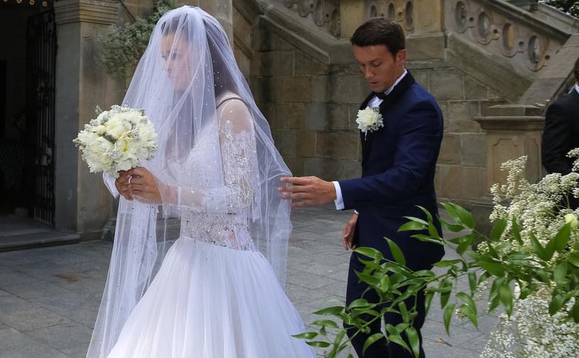 Ślub Agnieszki Radwańskiej i Dawida Celta /ANNA KACZMARZ / DDZIENNIK POLSKI / POLSKA PRESS /East News