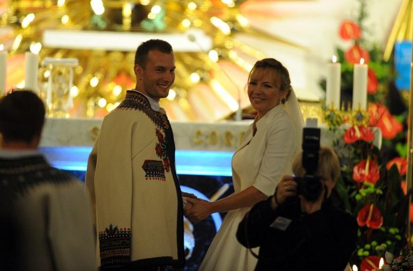 Ślub Anny Guzik /Maciej Gillert /East News