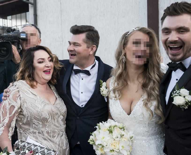 Ślub Daniela i Eweliny /MICHAL KOSC /Agencja FORUM