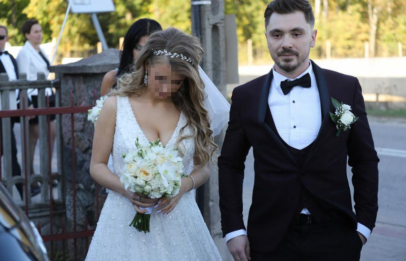 Ślub Daniela Martyniuka i Eweliny /Anatol Chomicz /East News