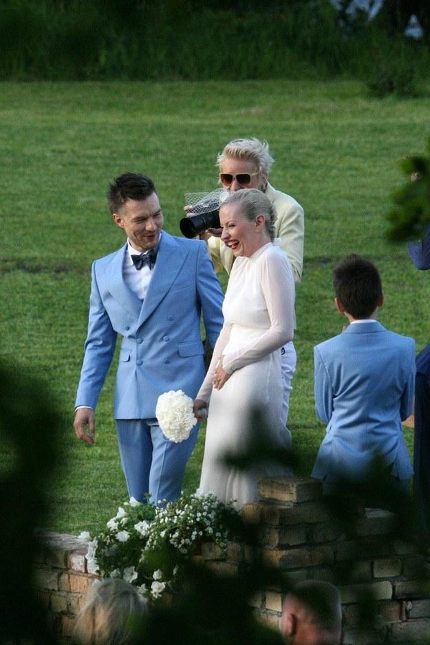 Ślub Doroty i Adama w maju 2013 roku /East News