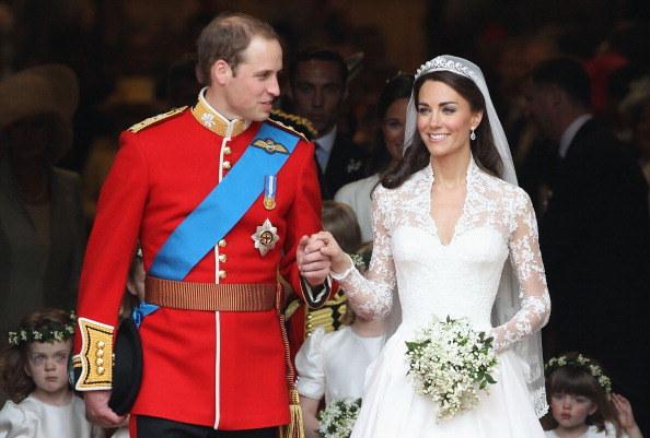Ślub Kate i Williama oglądały miliony na całym świecie /Getty Images