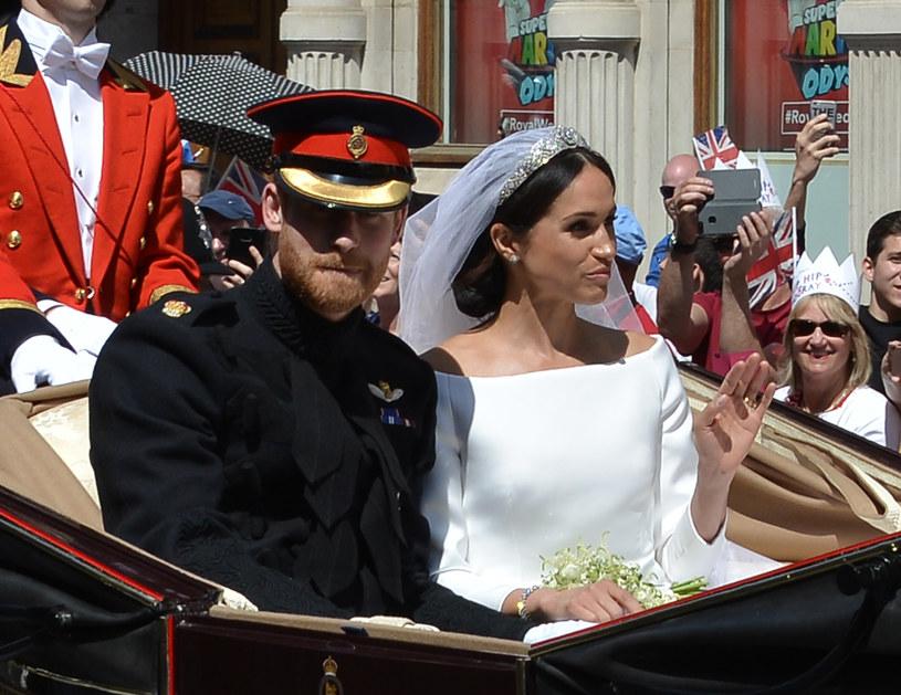 Ślub książęcej pary /Icon and Image /Getty Images