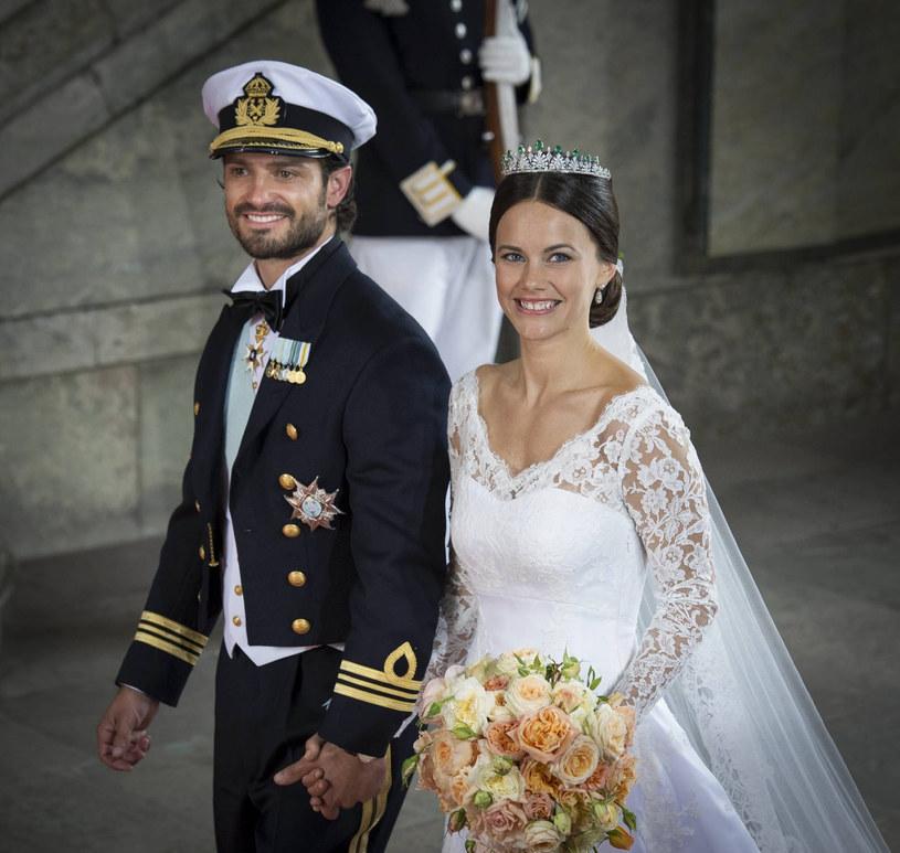 Ślub księcia Karola Filipa z księżną Zofią /SplashNews.com /East News