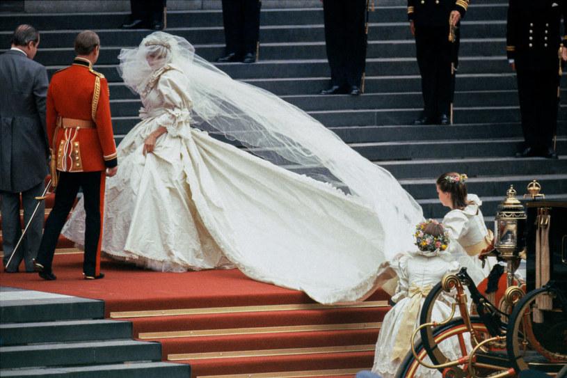 Ślub księżnej Diany i Karola /DAVID LEVENSON /Getty Images