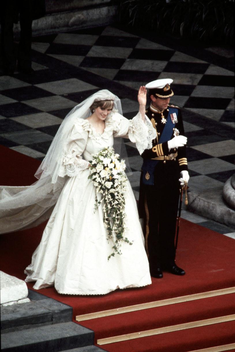 Ślub księżnej Diany i Karola /Ron Bull /Getty Images