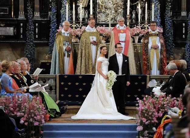 Ślub księżnej Wiktorii i Daniela Westlinga był wielkim wydarzeniem w Szwecji /Getty Images/Flash Press Media
