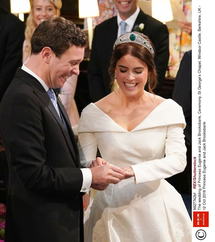 Ślub księżniczki Eugenii /East News