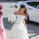 Ślub Marina Cilica i Kristiny Milkovic. Piękna suknia panny młodej