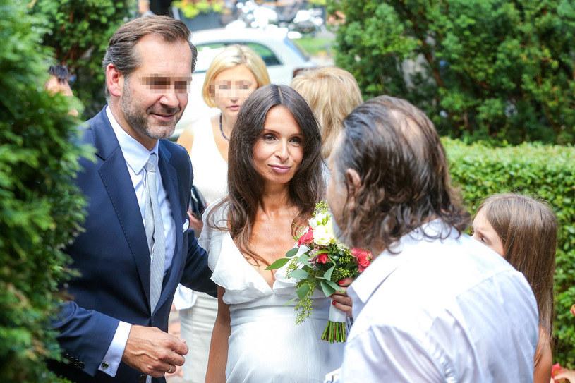 Ślub Marty i Piotra /Newspix