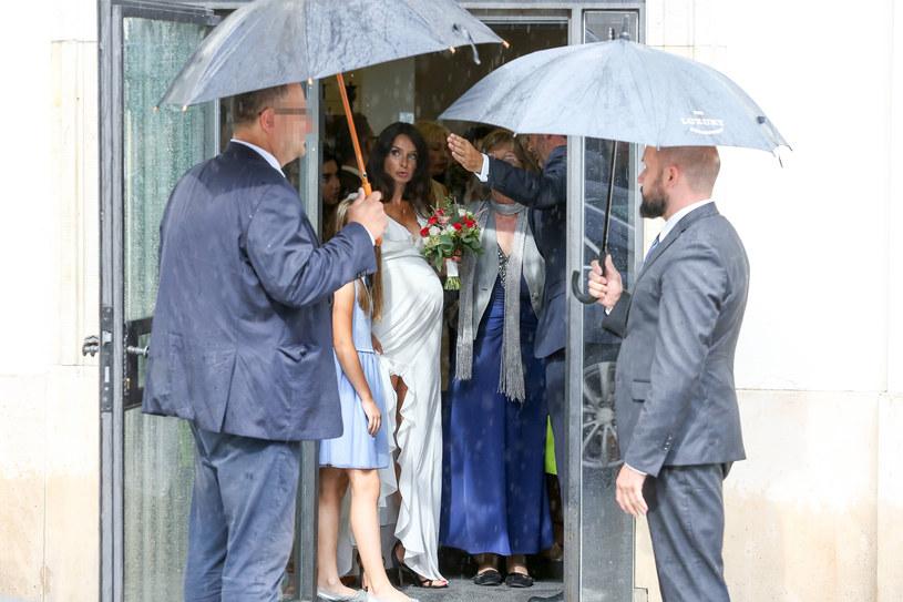 Ślub Marty Kaczyńskiej /Newspix