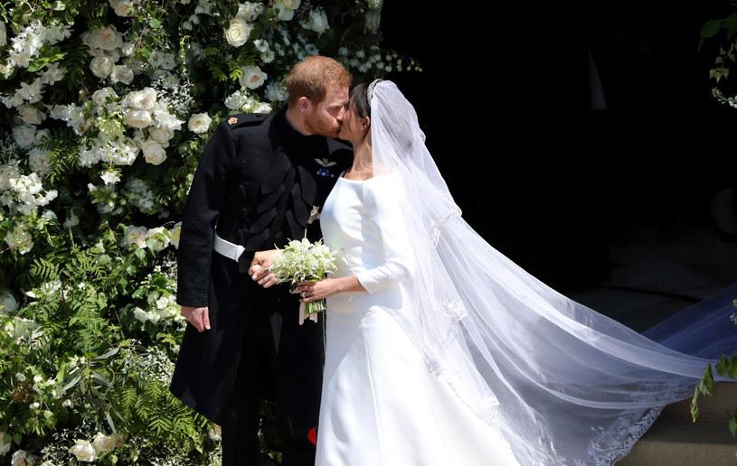 Ślub Meghan Markle i księcia Harry'ego /WPA Pool /Getty Images