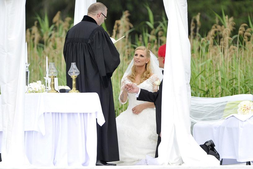 fc6faa156f Dominika Tajner wspomina ślub z Michałem Wiśniewskim