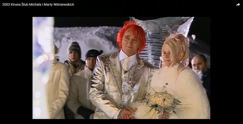 Ślub Michała i Marty transmitowany był w TVN /materiał zewnętrzny
