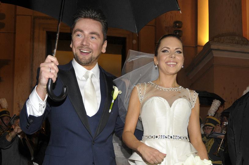Ślub pary był medialnym wydarzeniem w 2012 roku /AKPA