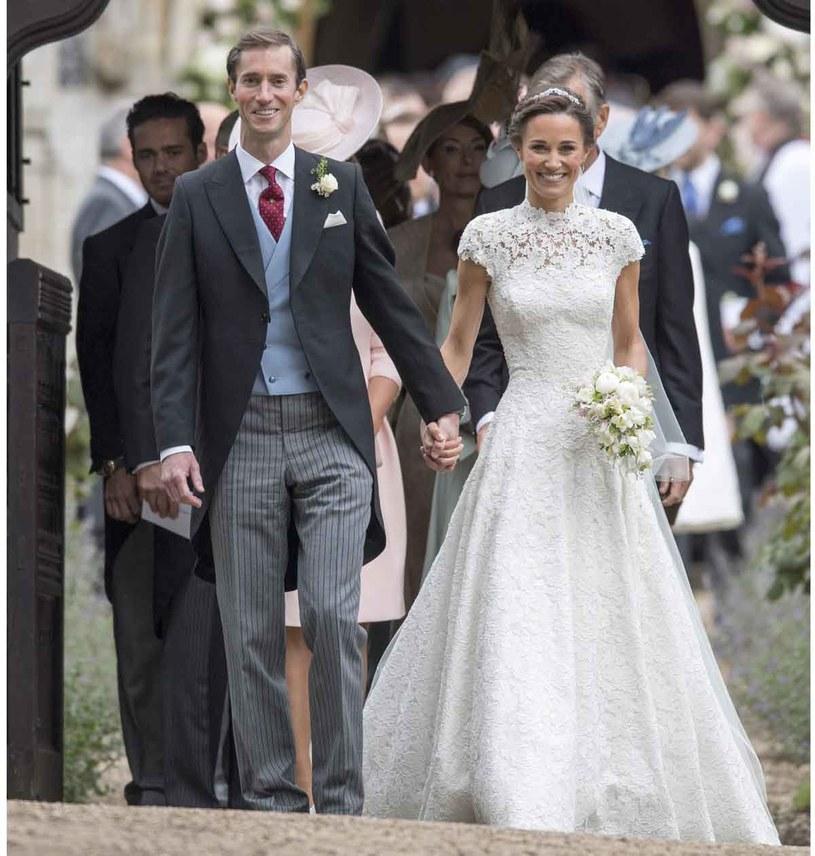 Ślub Pippy Middleton i Jamesa Matthewsa odbył się 20. maja /Getty Images